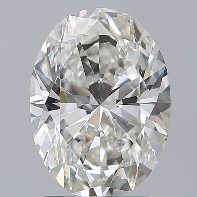 1.90-Carat Natural Ideally Cut Oval Diamond