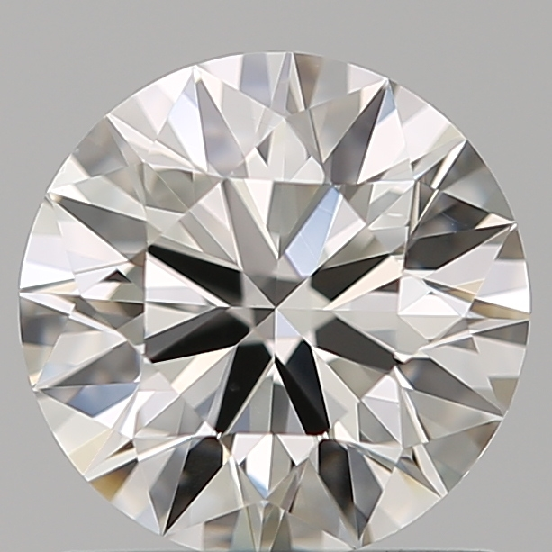 0.90-Carat Natural Ideally Cut Round Diamond