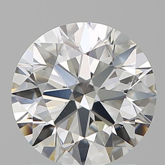 1.51-Carat Natural Ideally Cut Round Diamond