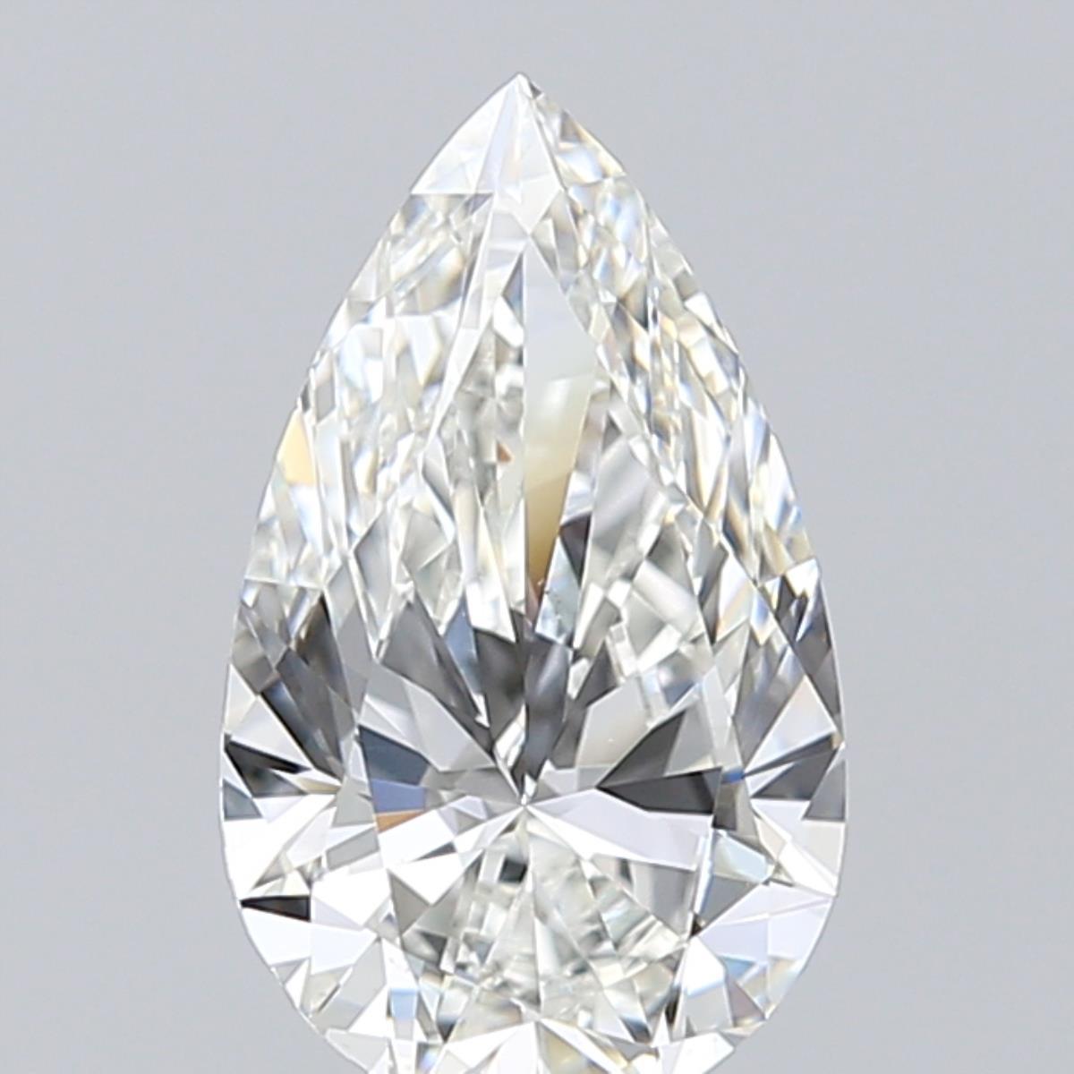 1.51-Carat Natural Ideally Cut Pear Diamond