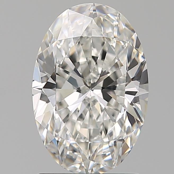 1.51-Carat Natural Ideally Cut Oval Diamond