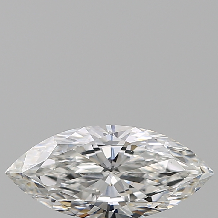 0.51-Carat Natural Ideally Cut Marquise Diamond
