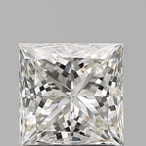1.21-Carat Natural Ideally Cut Princess Diamond