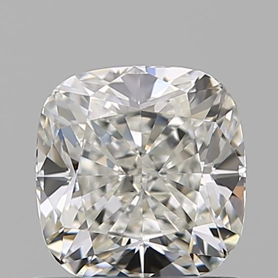 0.90-Carat Natural Ideally Cut Cushion Diamond