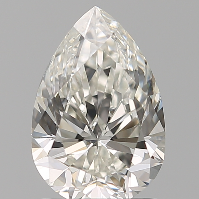 1.20-Carat Natural Ideally Cut Pear Diamond