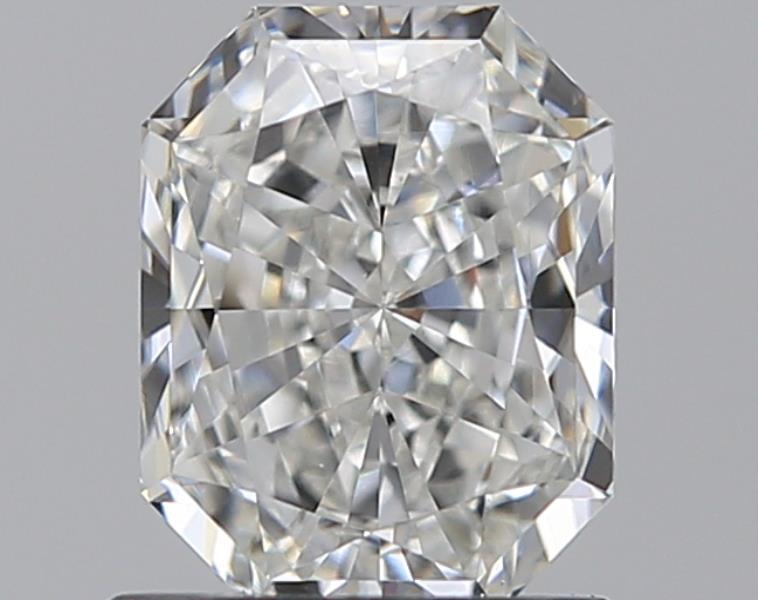 1.02-Carat Natural Ideally Cut Radiant Diamond