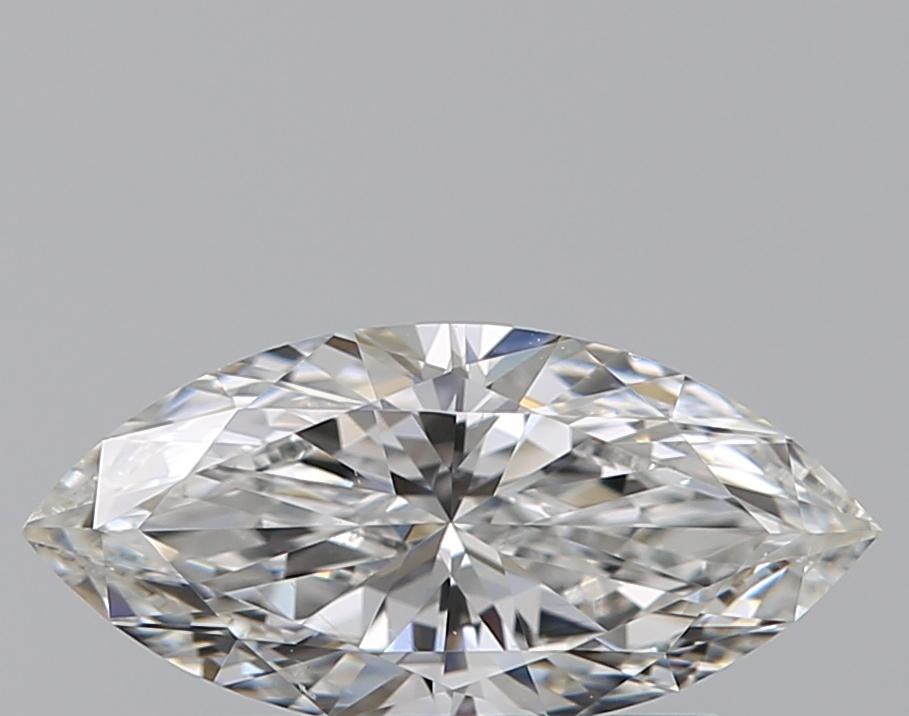 0.50-Carat Natural Ideally Cut Marquise Diamond