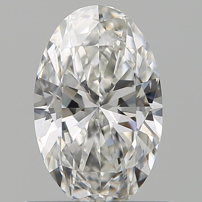 0.51-Carat Natural Ideally Cut Oval Diamond