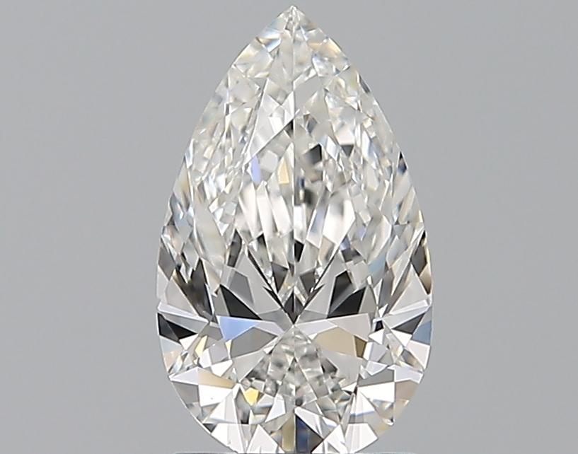 1.21-Carat Natural Ideally Cut Pear Diamond