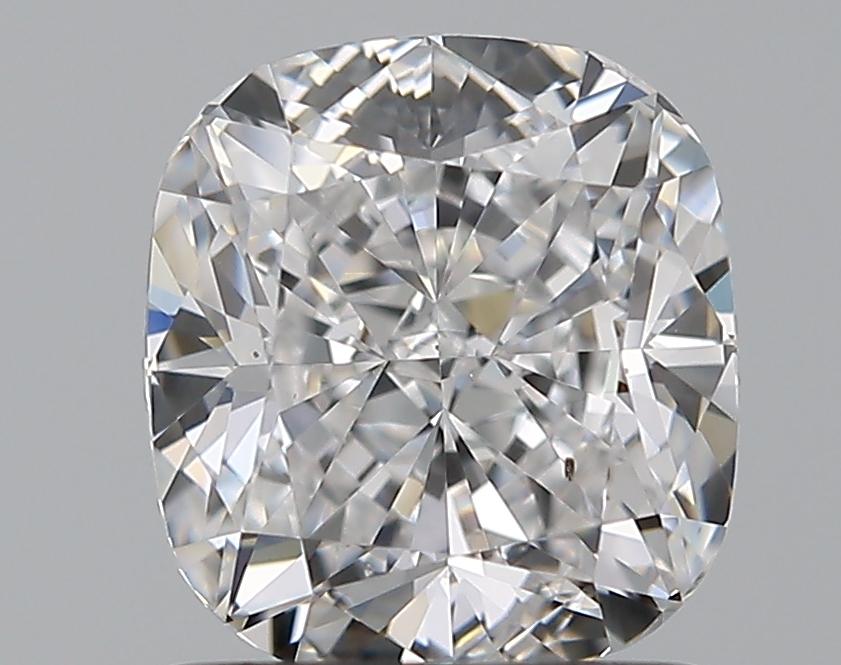 1.20-Carat Natural Ideally Cut Cushion Diamond
