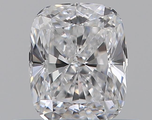0.44-Carat Natural Ideally Cut Cushion Diamond